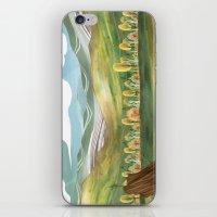 Goldenrod Grassland iPhone & iPod Skin