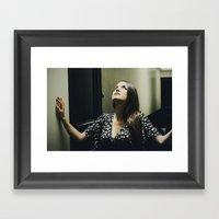 Hoping Framed Art Print