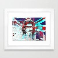 Gᴑᴆ ˢɐᵛᴇ ᴛħə ʠʊɵɵʌ Framed Art Print