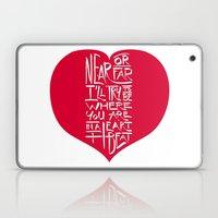 In A Heartbeat Laptop & iPad Skin
