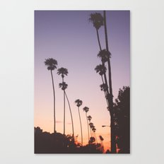 gradient sky Canvas Print