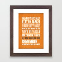 What I've learned from Star Wars Framed Art Print