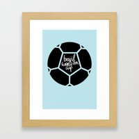 Brazil World Cup 2014 - Poster n°5 Framed Art Print