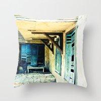 Rustic Throw Pillow