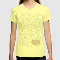 Merry Christmas 01 Womens Fitted Tee Lemon SMALL