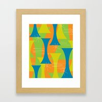 Mod Motion Framed Art Print