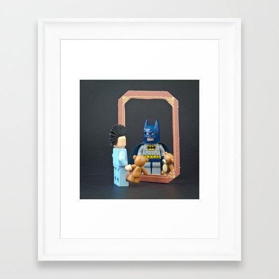 We are all Superheroes Framed Art Print