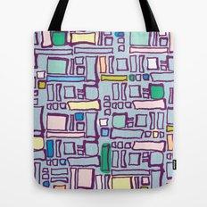 Blocked Tote Bag
