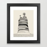 Radio Hill Framed Art Print