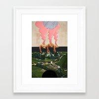 The Noon Guns (Front) Framed Art Print