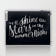 Shine Like Stars - Summer Laptop & iPad Skin