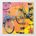 love my Bicycle Canvas Print