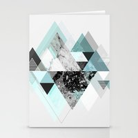 Graphic 110 (Turquoise Version) Stationery Cards
