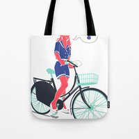 LE COOL GAL Tote Bag