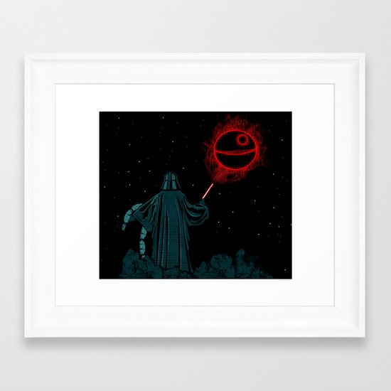The Darth Lord Framed Art Print