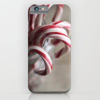 Rustic Candy Canes - Chr… iPhone 6 Slim Case