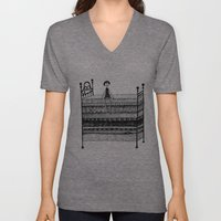 The Princess and the Pea Unisex V-Neck
