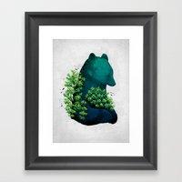 Nature's embrace Framed Art Print