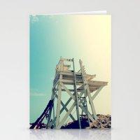 End of Summer Nostalgia II Stationery Cards