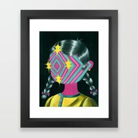 Beautiful Dreamer Luna Framed Art Print