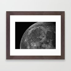 Moon 05 Framed Art Print