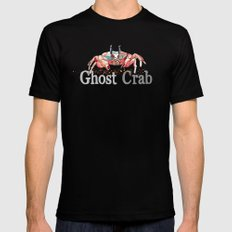 G is for Ghost Crab Mens Fitted Tee Black SMALL