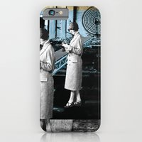 iPhone & iPod Case featuring placing an objective far away from cover by Mayara Viana