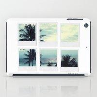Polaroid Collage 'Palms' iPad Case