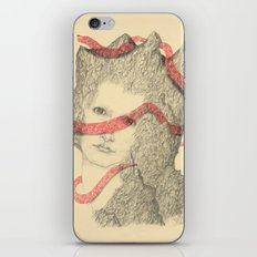 Mountains and Me iPhone & iPod Skin