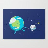 Moonwalk Canvas Print