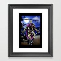 Kobe Bryant, The Assassi… Framed Art Print