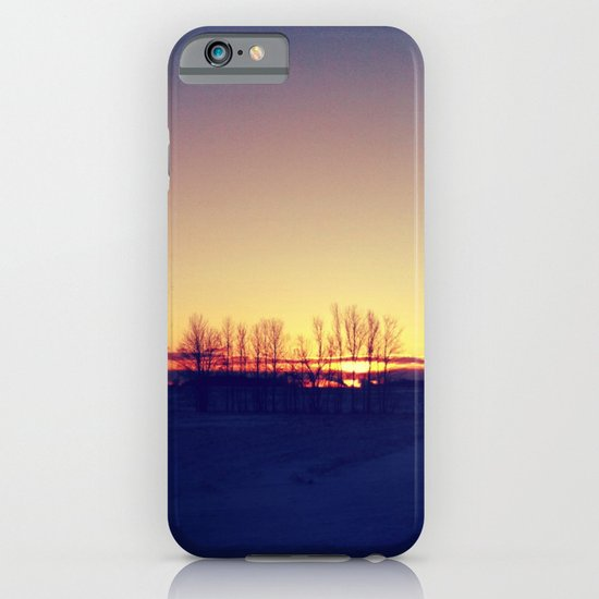 Winter Sets iPhone & iPod Case