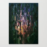Castles In Hyperspace Canvas Print