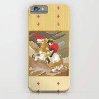 Napoleon Crossing the Alps by  Jacques-Louis David  iPhone 6 Slim Case