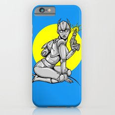 Robot Pinup Slim Case iPhone 6s