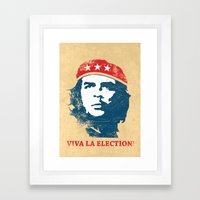 Viva la election! Framed Art Print