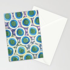 Four Directions Dot Pattern Stationery Cards