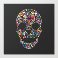 Under Your Skin in Glorious Technicolor Canvas Print