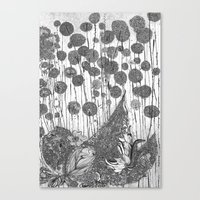 Trees And Leaves Canvas Print