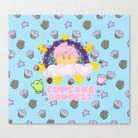 Cupcake Goddess 2 Canvas Print