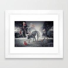 Opti-Dog Framed Art Print