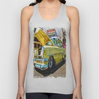 Classic Chevy Belair Unisex Tank Top