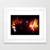K-R Framed Art Print