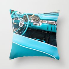 Timeless Turquoise Throw Pillow