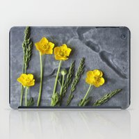 Hello Buttercup - Yellow Flower  iPad Case