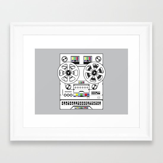 1 kHz #6 Framed Art Print