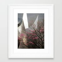 City Blossoms Framed Art Print