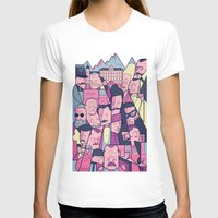 Grand Budapest Hotel Womens Fitted Tee White SMALL