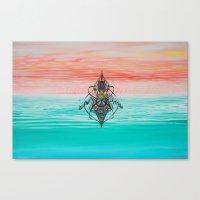 Landscape Of My Mind Canvas Print
