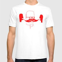 Documenting The Discover… Mens Fitted Tee White SMALL